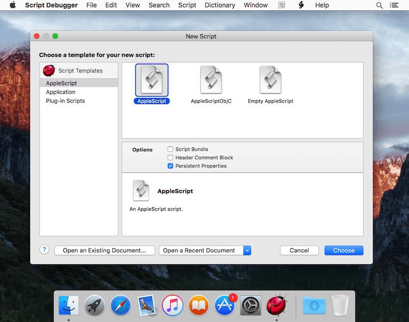 Script Debugger 7.0.9 破解版 Mac 脚本调试工具插图