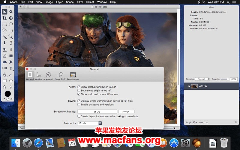 Acorn 6.5.1 破解版 Mac 简单易用的图像编辑软件插图