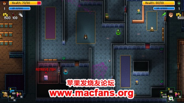 《地痞流氓街区 Streets of Rogue 1.0 Mac 原生中文破解版动作冒险游戏》