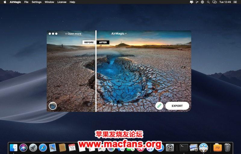 AirMagic 1.0.0 (7143) 破解版 Mac 智能无人机图像编辑软件插图