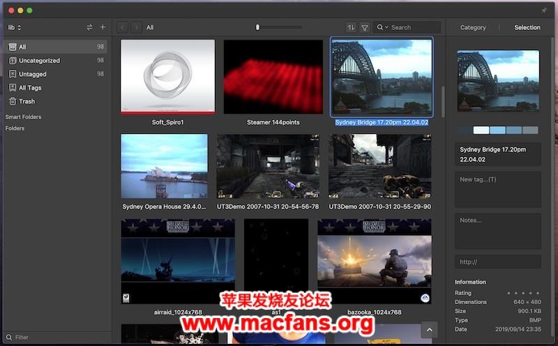 《Eagle 1.9.2 破解版 Mac 图片管理必备工具可以轻松管理大量图片素材》