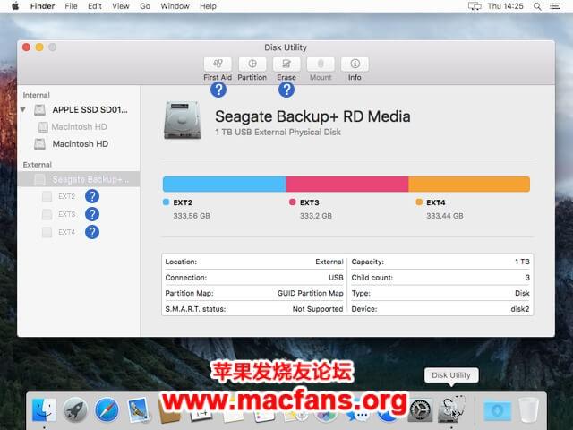 Paragon ExtFS 11.3.27 破解版 Mac上读写 Linux Ext 分区工具插图