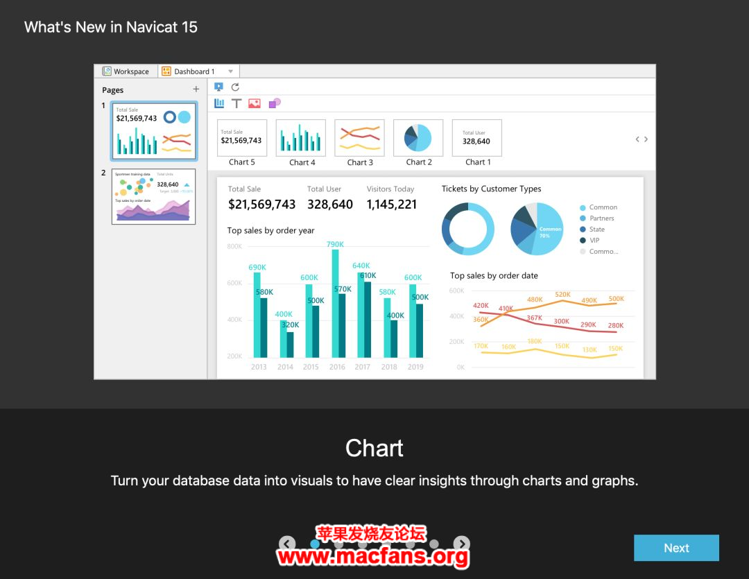 一款 macOS 强大的数据库管理工具 Navicat Premuim 最新 版插图1