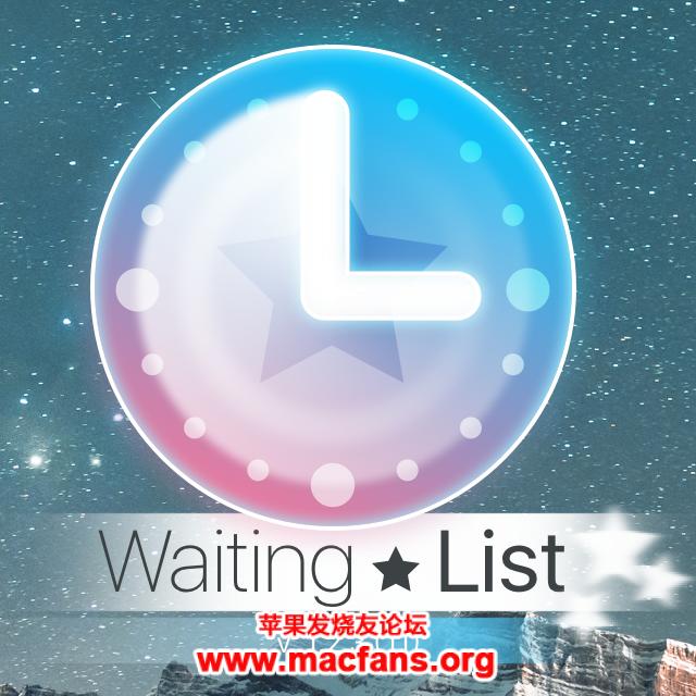 推荐一款 macOS 小众的倒计时工具 WaitingList插图1